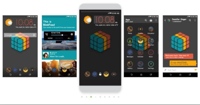 HTC Desire Rubik