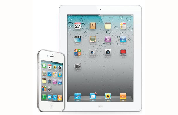 iPhone 4 and iPad 2