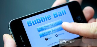 iPhone Bubble Ball Games