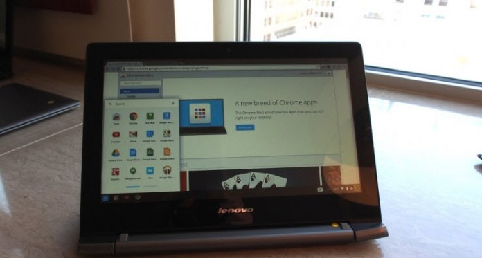 Chrome OS on tablet