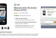 Amazon Motorola Atrix 4G