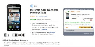 Amazon Motorola Atrix 4G