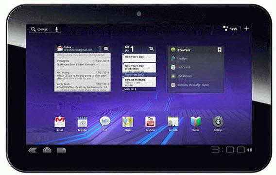 Honeycomb Tablet