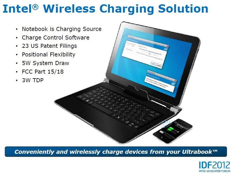 Intel Wireless Charging Solution