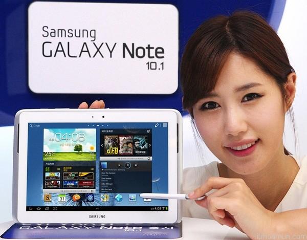 Galaxy Note 10.1, Galaxy Note ในเกาหลี