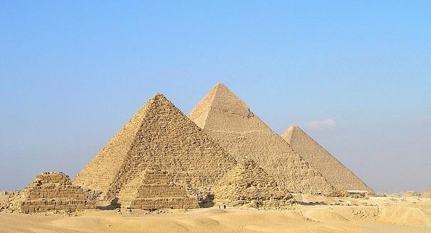 Google Earth  พีระมิดอียิปต์