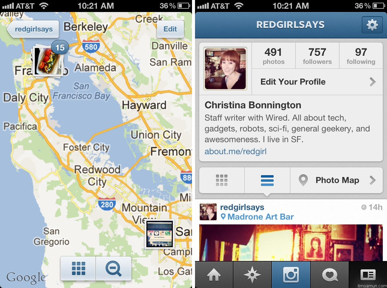 Instagram 3.0 Photo Mapping