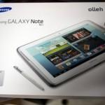 Samsung Galaxy Note 10.1 เครื่องหิ้วรองรับ 3G Quadband