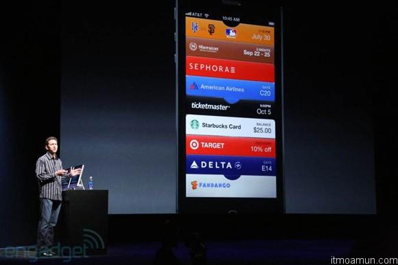 ระบบของ iOS 6 บน iPhone 5