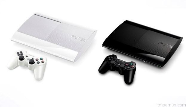 PlayStation3 (PS3) สีขาว สีดำ