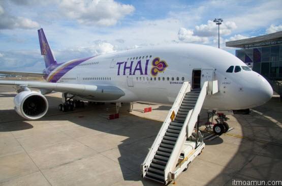 แอร์บัส เอ380-800 ของการบินไทย
