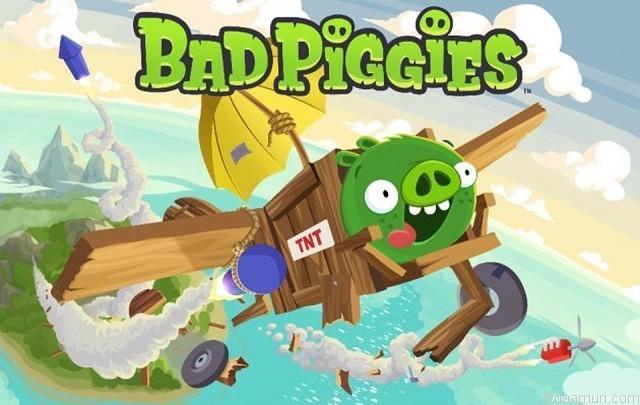 Bad Piggies Game, เกมส์เจ้าหมูเขียว