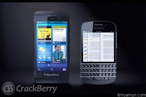 Blackberry 10 QWERTY Touch