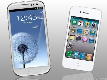 Galaxy S III คัดลอก iPhone