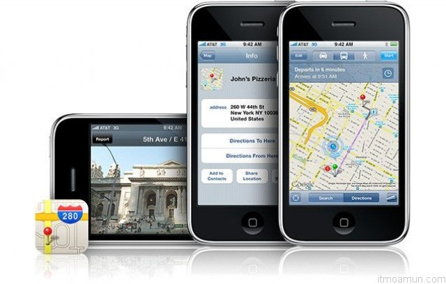 Google Maps for iOS6