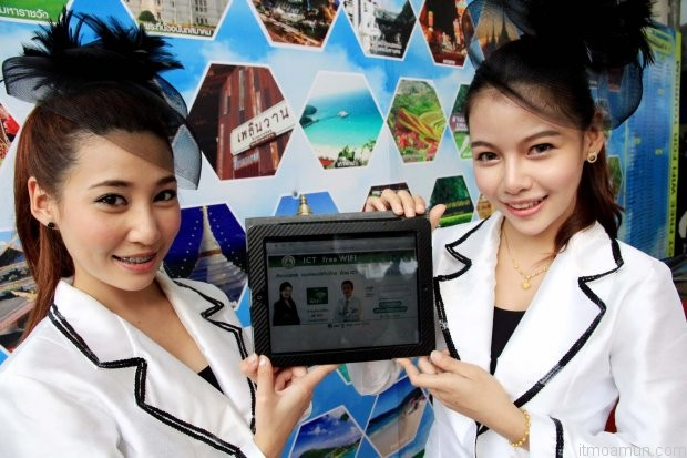 ICT Free WiFi  For Tourism, ฟรี Wifi ทั่วประเทศ