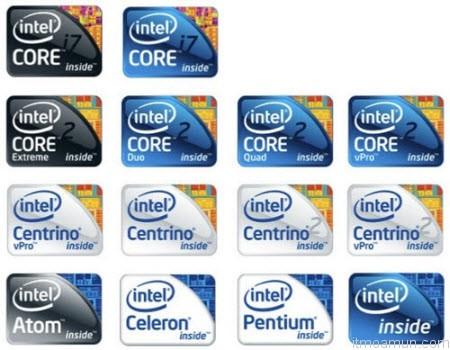 Intel Inside Sticker on Mobile