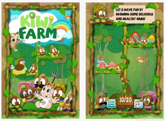 Kiwi Farm เกมส์ปลูกกีวี