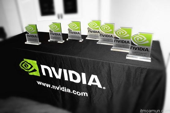 รางวัลตัวแทนจำหน่ายยอดเยี่ยมจาก NVIDIA