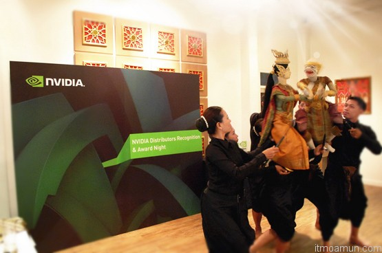ศิลปะการแสดงหุ่นละครเล็กและนาฎศิลป์ NVIDIA Award Night 2012 จาก นาฎยศาลา หุ่นละครเล็ก (โจหลุยส์)