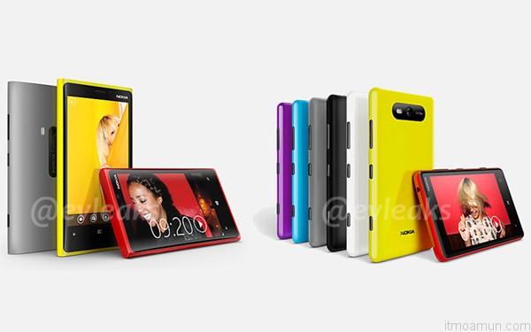 Nokia Lumia 920 Nokia Lumia 820