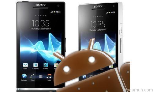 Sony Xperia U Android 4.0.4 ICS