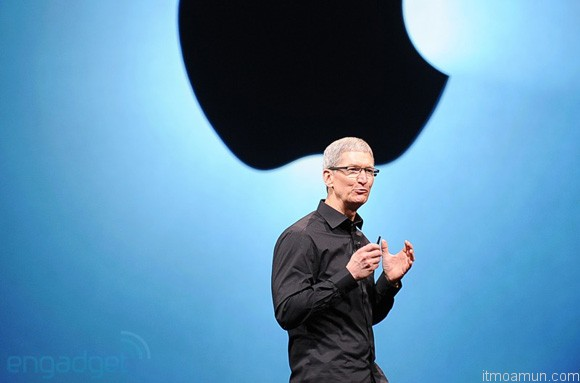 Tim Cook in iPhone 5 Event