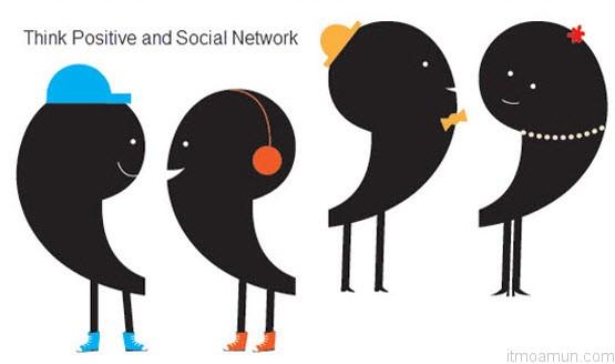 คิดบวกกับเครือข่ายสังคมออนไลน์ (Think Positive and Social Network)