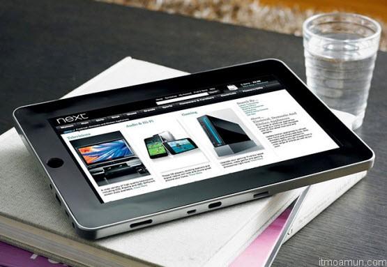 Tablet  หน้าจอ 10 นิ้ว จาก Samsung และ Google