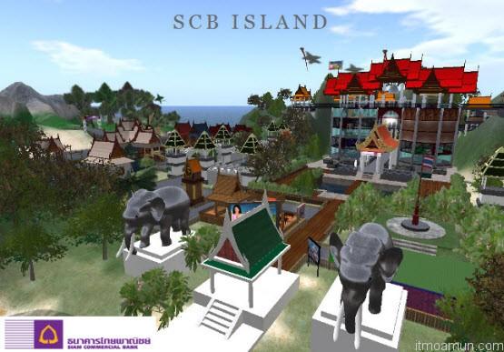 SCB Island เกาะโลกเสมือน จาก ธนาคารไทยพาณิชย์