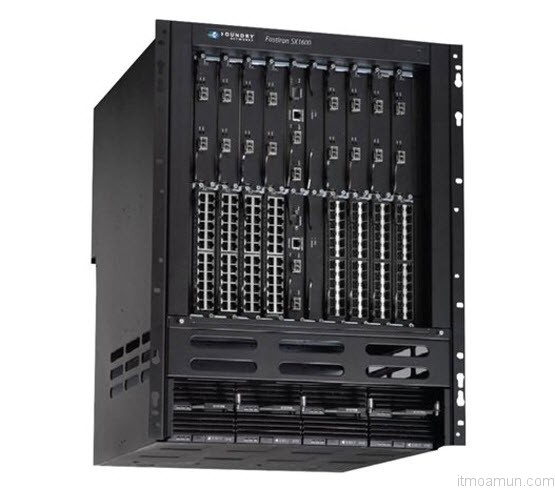สวิตช์ Brocade FastIron® SX-1600