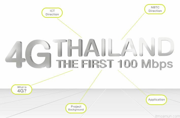 เทคโนโลยี 4G ในประเทศไทย