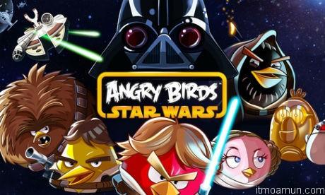 เกมส์ Angry Birds Star Wars