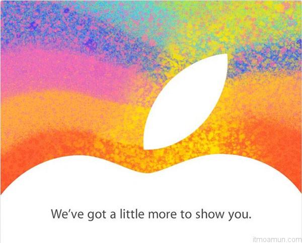 Apple, จดหมายเชิญสื่อ