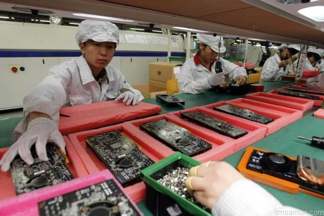 บริษัท Foxconn ผู้ผลิต iPhone 5