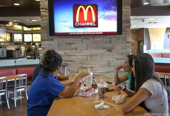 M Channel McDonald's