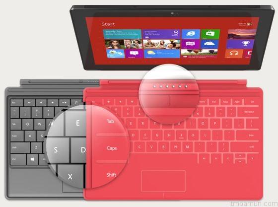 Microsoft Surface RT แท็บเล็ต Windows 8 จาก MS