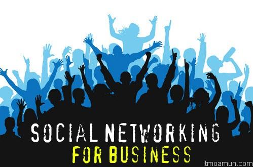 Social Networking for Business สังคมออนไลน์ของคนวัยทำงาน