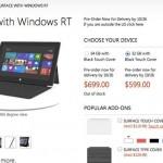 Surface รุ่น 32GB บน Windows 8 จองหมดภายในวันเดียว
