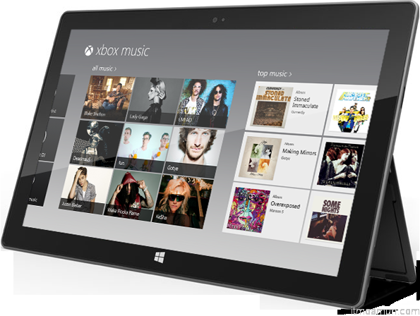 Xbox Music บริการเพลงดิจิตอลบนเครื่องเกมคอนโซลเอ็กซ์บ็อกซ์