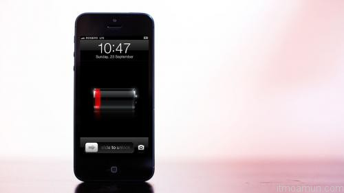 battery iOS 6 iphone 5