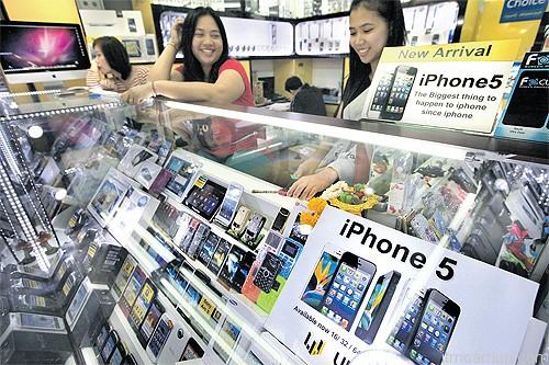 iPhone 5 ในประเทศไทย