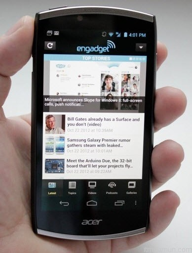 Acer S500 CloudMobile Review