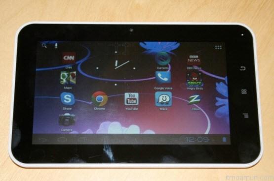 Aakash 2 Tablet สำหรับนักเรียนในอินเดีย แท็บเล็ตอากาศ