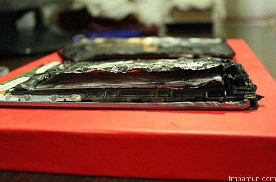 Asus Nexus 7 เกิดประทุระเบิดในจีน