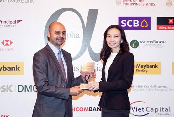 Alpha Southeast Asia top list financial