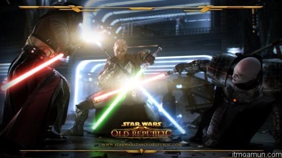 เกม Star Wars : The Old Republic