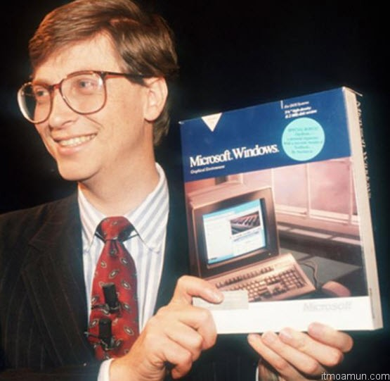Bill Gates, Microsoft Windows