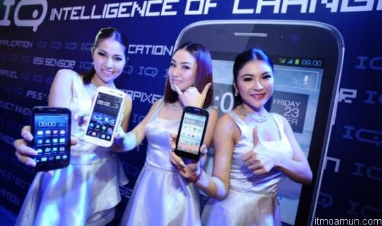 i-Mobile เปิดตัวน้องใหม่ IQ