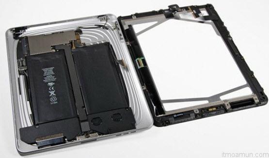 แบตเตอรี่ iPad